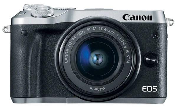 20f45e76bca Canon EOS-M6 + EF-M15-45mm + 55-200mm hõbedane - Overall