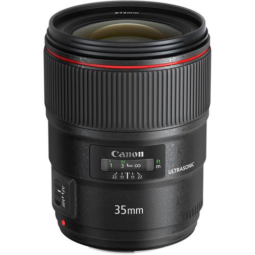 b5f2d8f868b Keerulistesse võtteoludesse ja pikaajaliseks kasutamiseks loodud EF 35mm  f/1.4L II USM on Canoni juhtiva L-sarja objektiividele omase ikoonilise  disaini ja ...