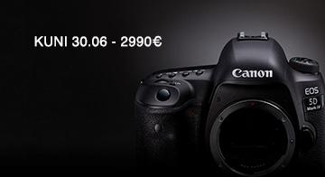 75c1d6a8b05 Limiteeritud koguses EOS 5D Mark IV kaameraid on kuni 30.06.2019 100€  soodsam. Uudised